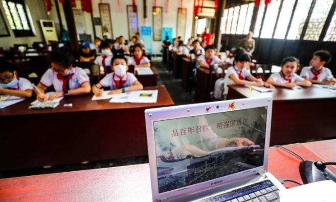 暑假第一天,沪上小学生开启行走研学