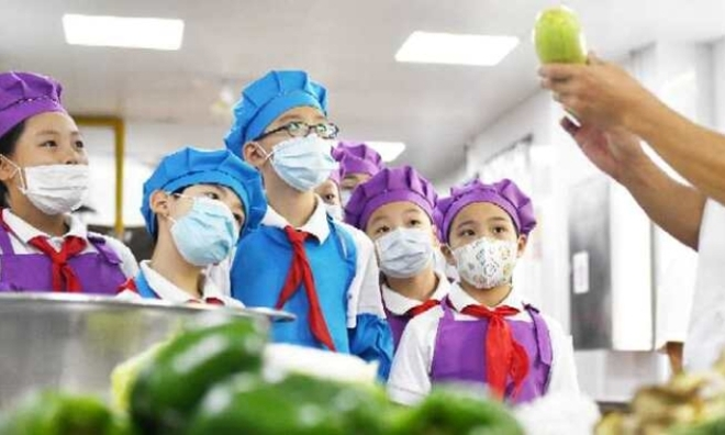 小学生最不爱吃蔬菜?徐汇派出食堂负责人了解学生口味,蔬菜、主食烧出花样经