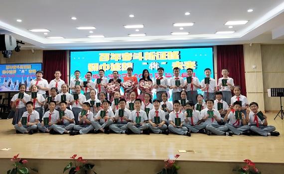 明珠小学B区2021届五年级毕业集体照 本文图片均由学校提供